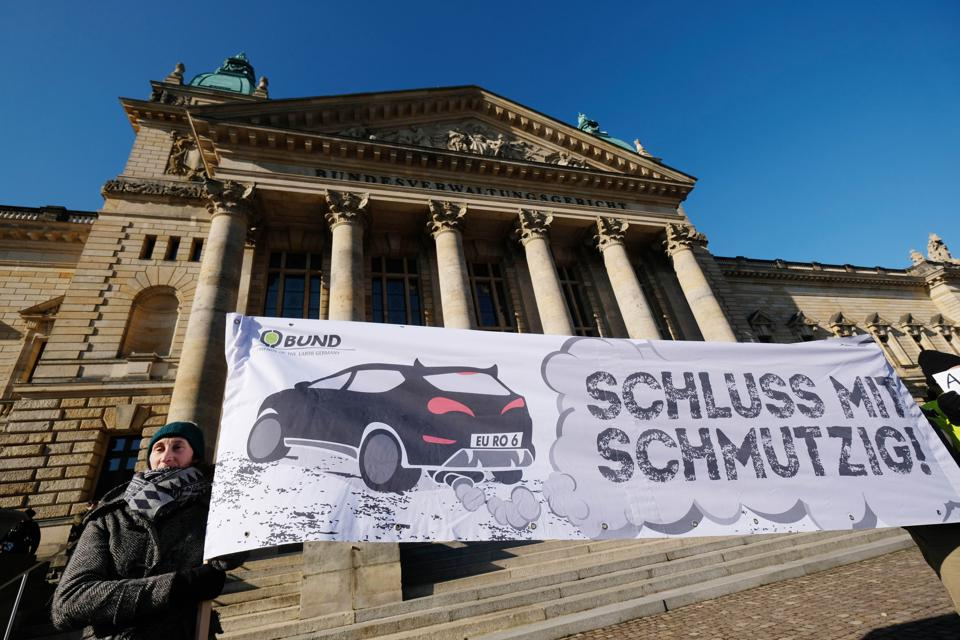 GERMANY-ECONOMY-AUTOMOBILE-POLLUTION-COURT