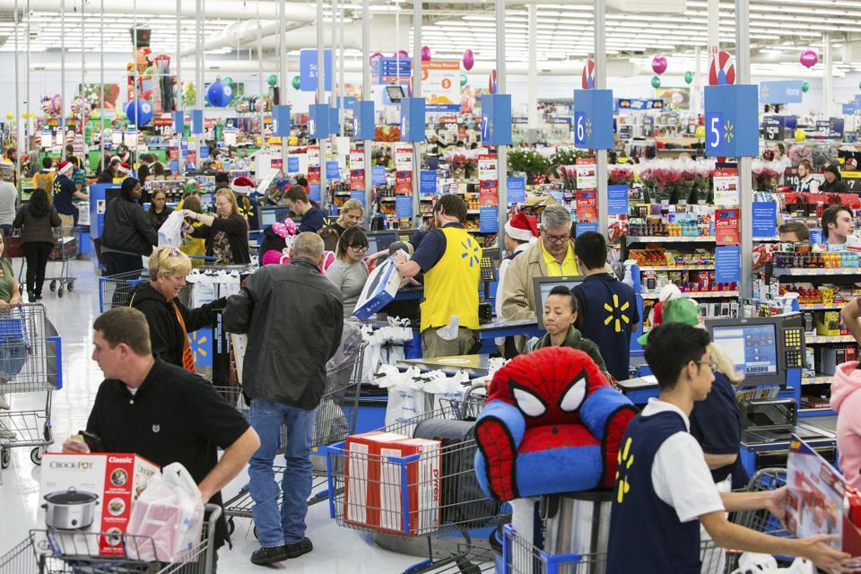 Walmart Black Friday Store Shoot