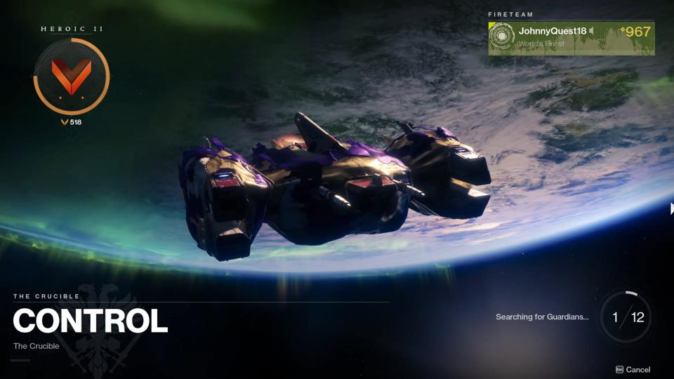 matchmaking Destiny Nightfall