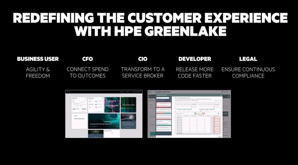 The benefits of HPE GreenLake.