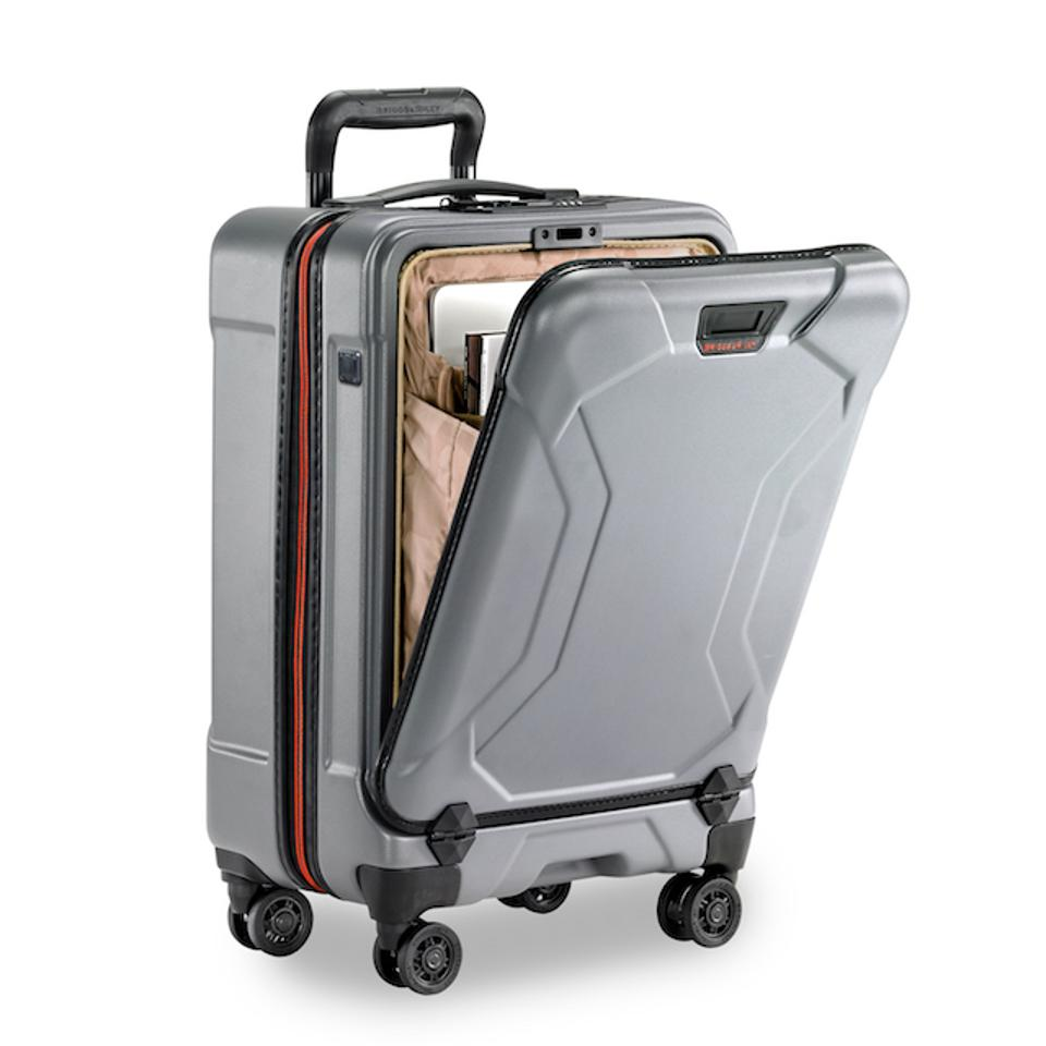 Torq graphite carry-on with front compartment