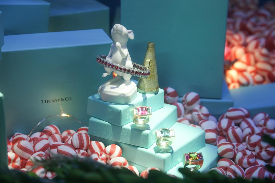 Tiffany's Flagship Store At New York