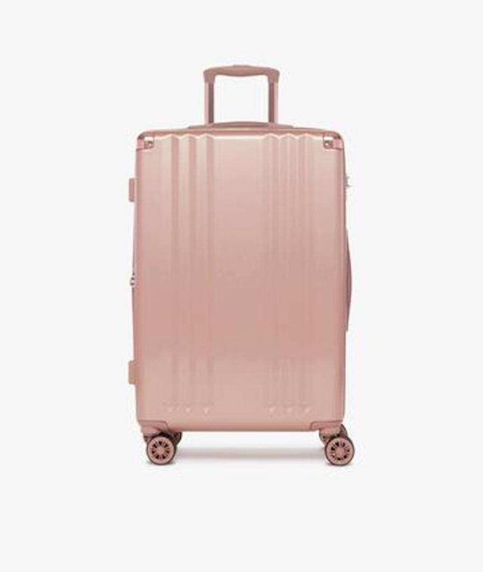 Ambeur carry-on in Rose Gold