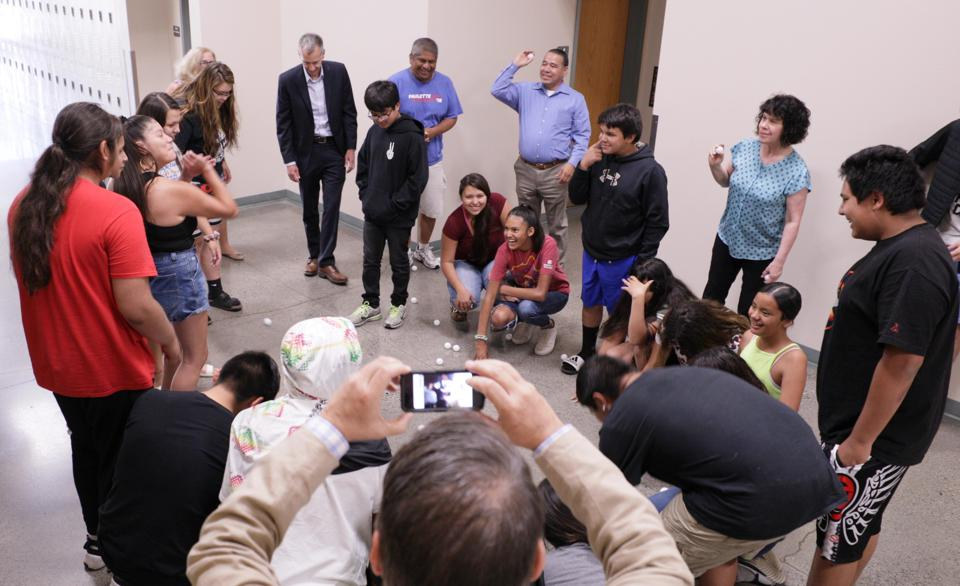 Student learning sessions with the Nez Perce Tribes in Idaho