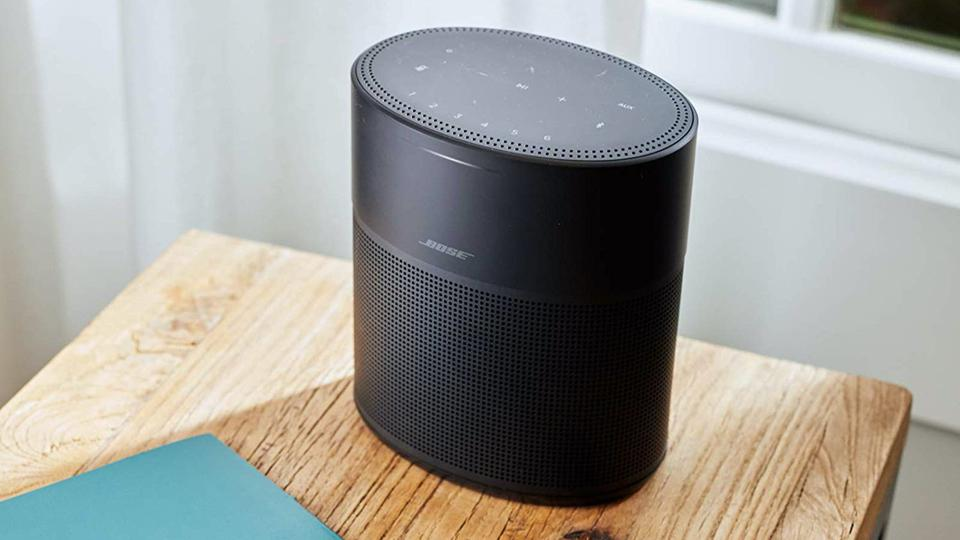 Bose Home Speaker 300 on a table.