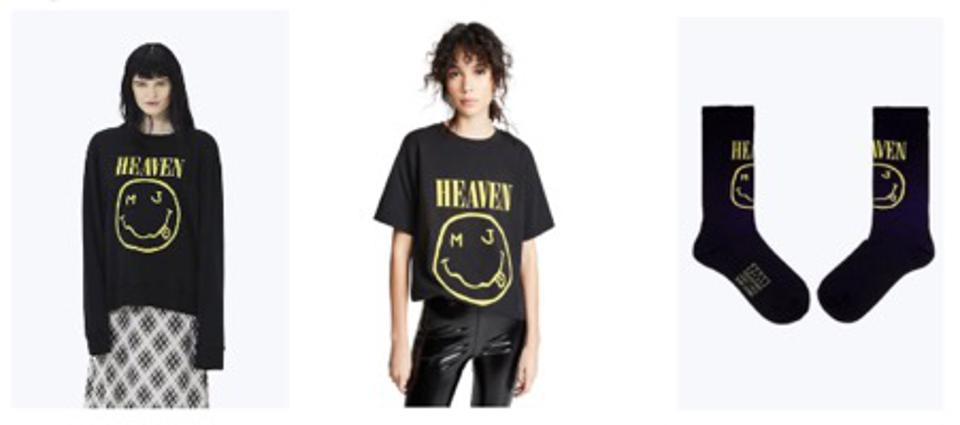 Three products from Marc Jacobs ″Bootleg Redux Grunge″ collection