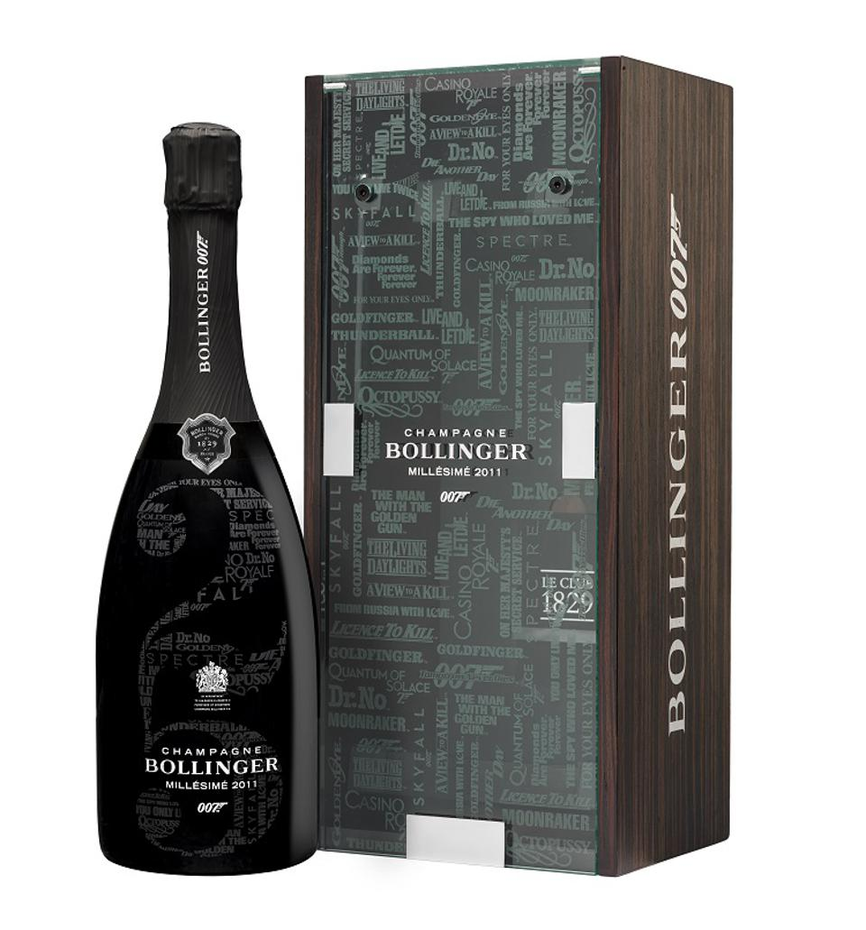 James Bond 007 x Bollinger Might Be Your Perfect Holiday Champagne