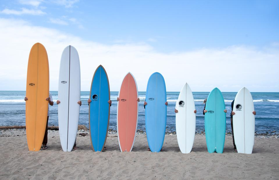 The Quiver allows surfers to make money with their unused surfboards