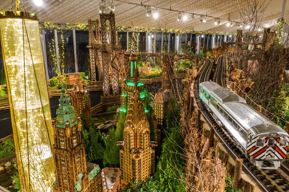 The New York Botanical Garden's Holiday Train Show 2019