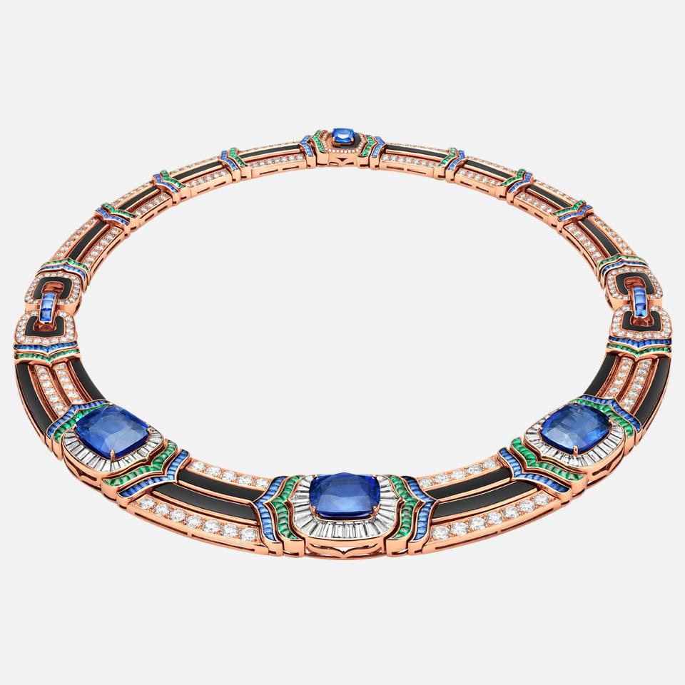 Cinemagia High Jewelry Necklace by Bulgari
