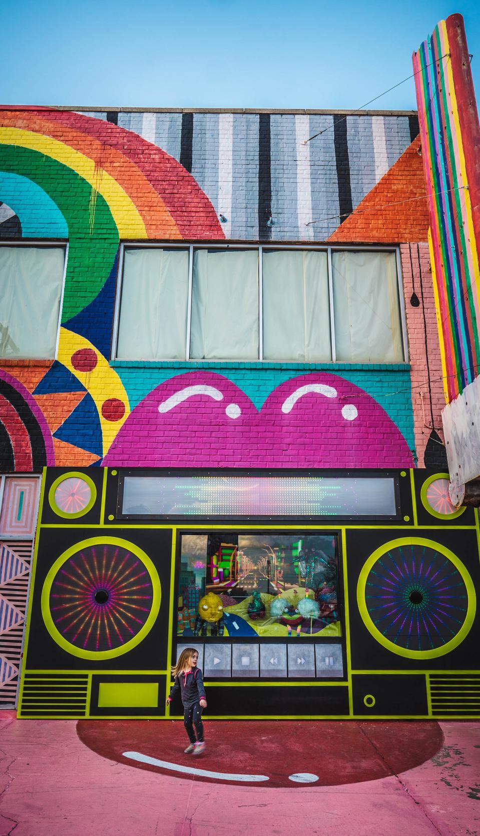 boombox street art