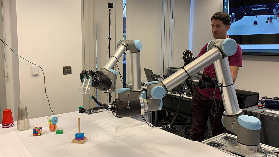 Hands-On With The Tactile Telerobot At The Festo Experience Center