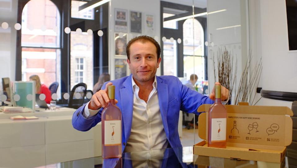 Garçon Wines CEO Santiago Navarro