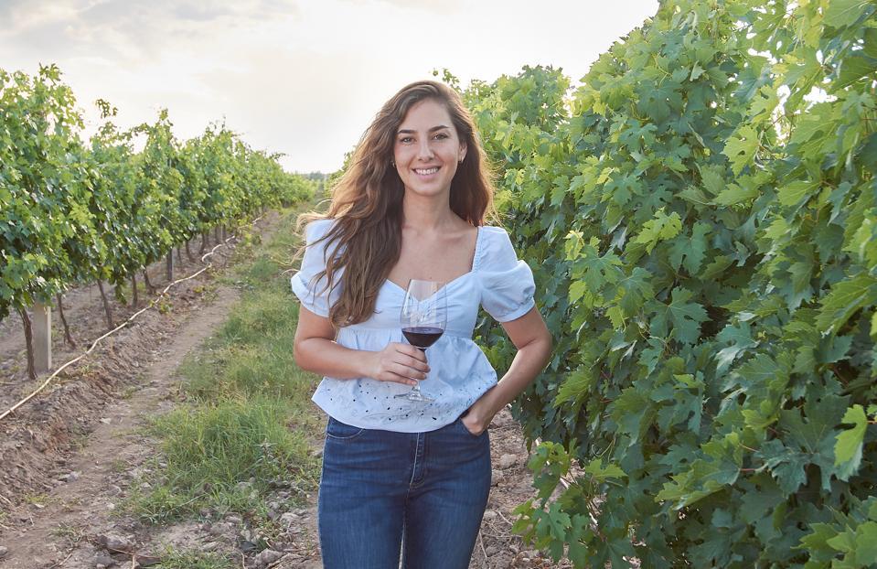 Juliana Del Aguila Eurnekian, co-owner of Karas Wines