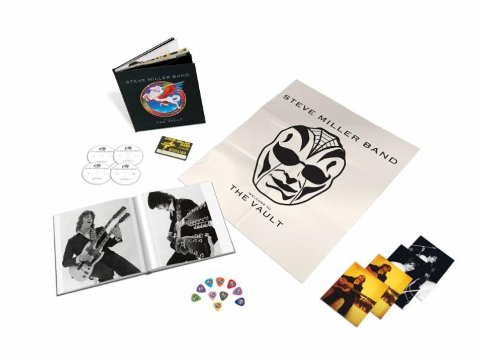 Steve Miller 'Welcome to the Vault'