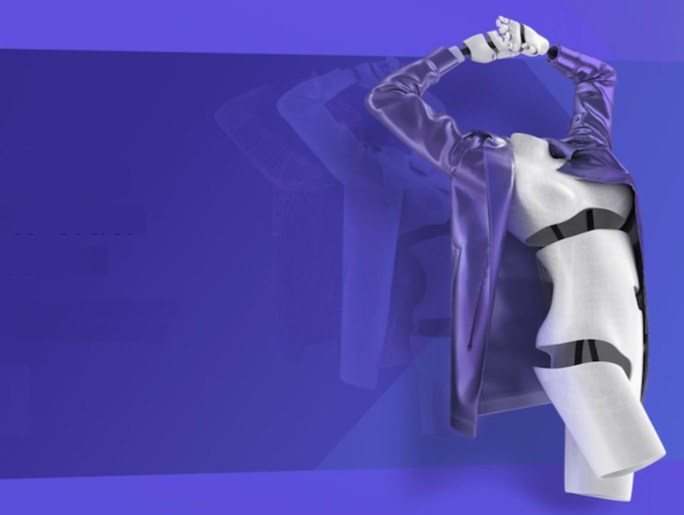 An image of a digital clothes mannequin.