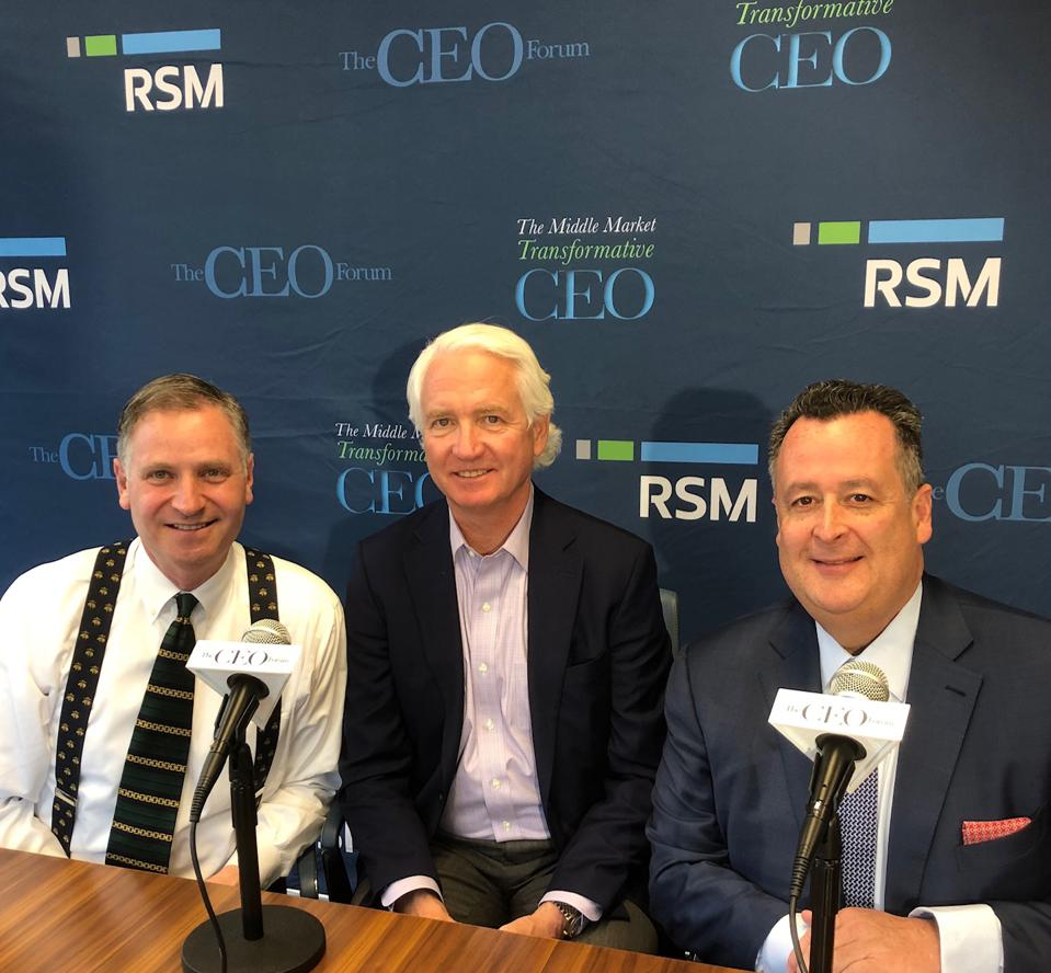 Robert Reiss, Chris McCann and Joe Brusuelas
