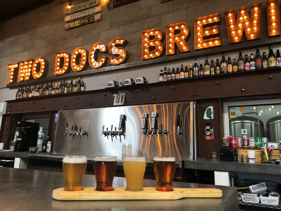 Two Docs Brewing Co in Lubbock, Texas