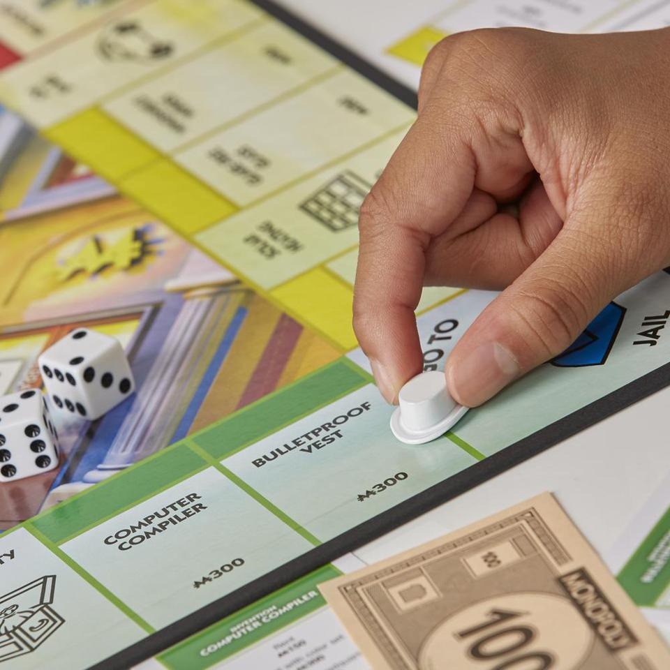 image of Ms Monopoly game from Hasbro