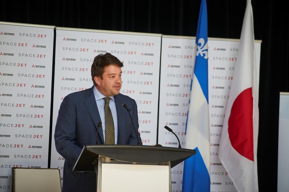 Alex Bellamy, chief development officer at Mitsubishi Aircraft