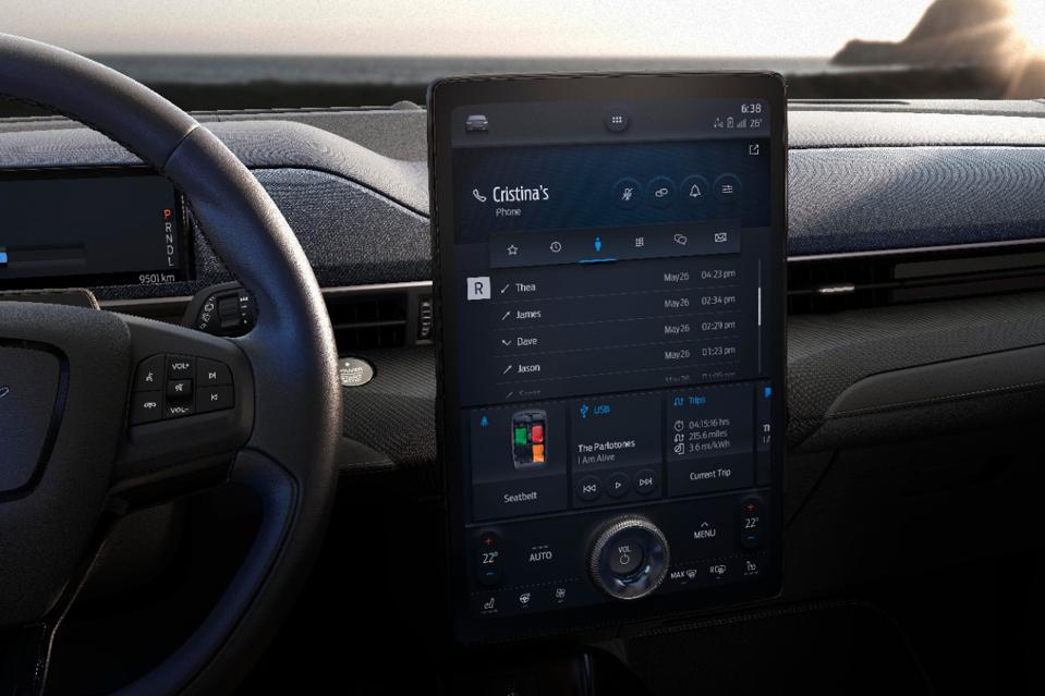 Sync 4 is Ford's latest version of its infotainment system.
