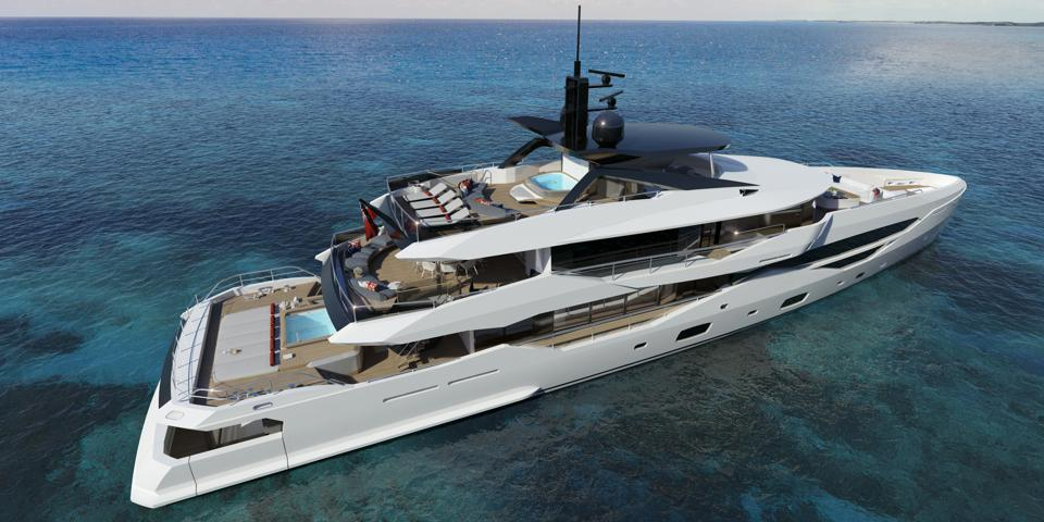 The new Sunseeker 161 is the largest yacht the company has built to date.