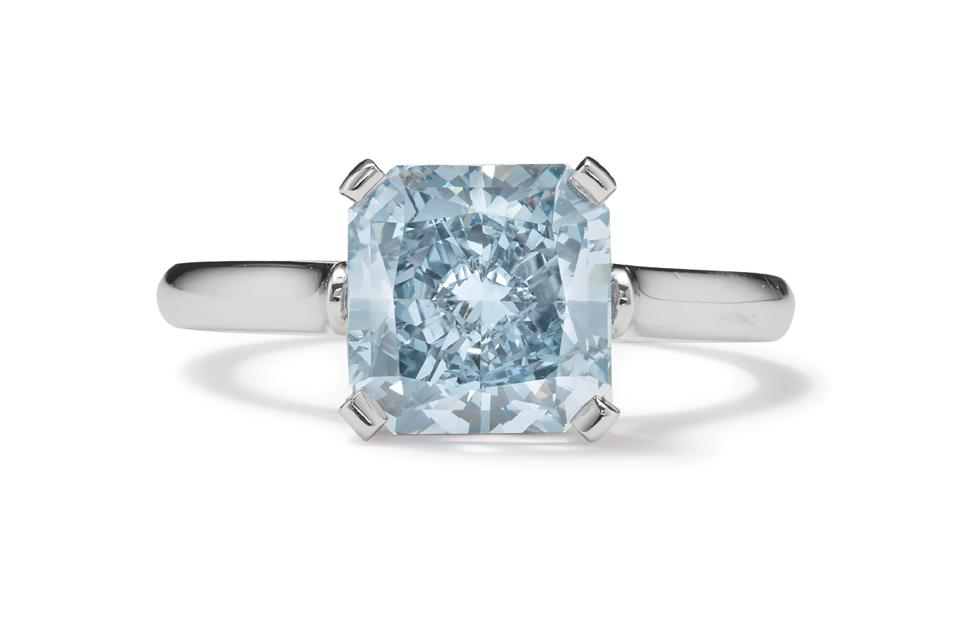 diamond and platinum ring by Tiffany & Co.