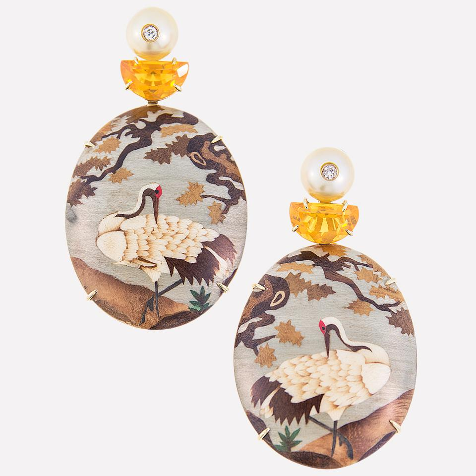 Obi Collection Earrings by Silvia Furmanovich