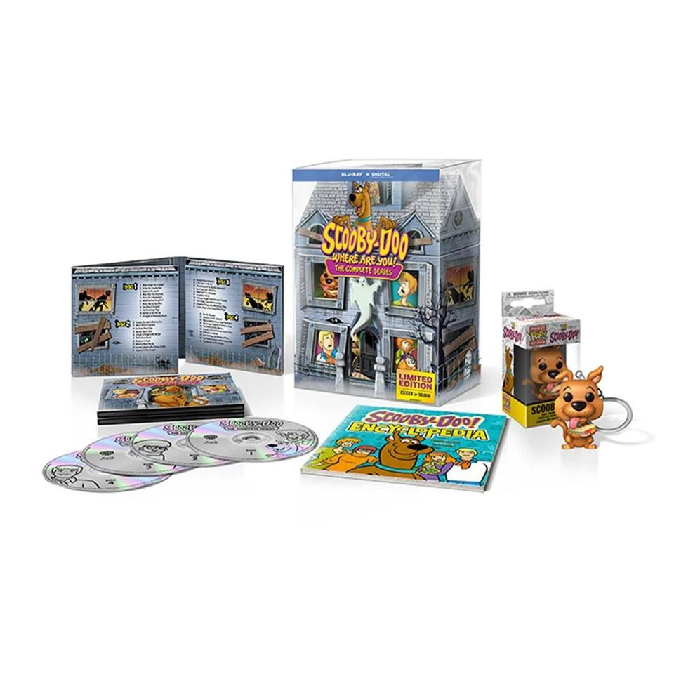 Scooby-Doo: Where Are You 50th Anniversary Gift Set DVD Blu-Ray