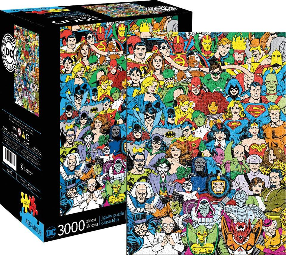 Heroes of DC 3000-piece puzzle