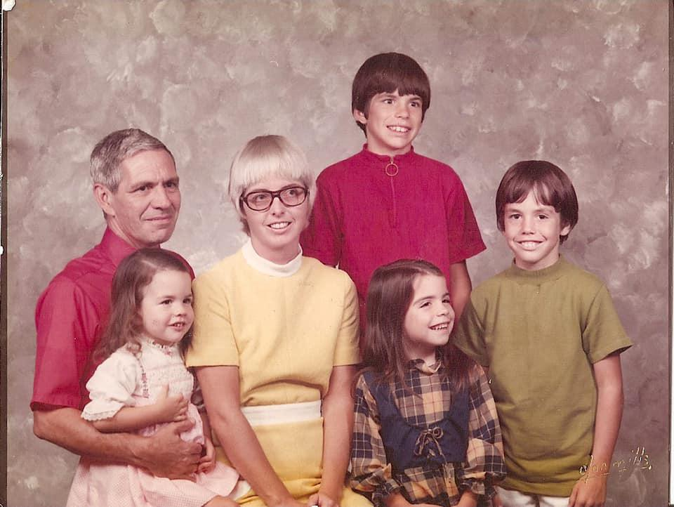 The Prinkey Family, circa 1972.
