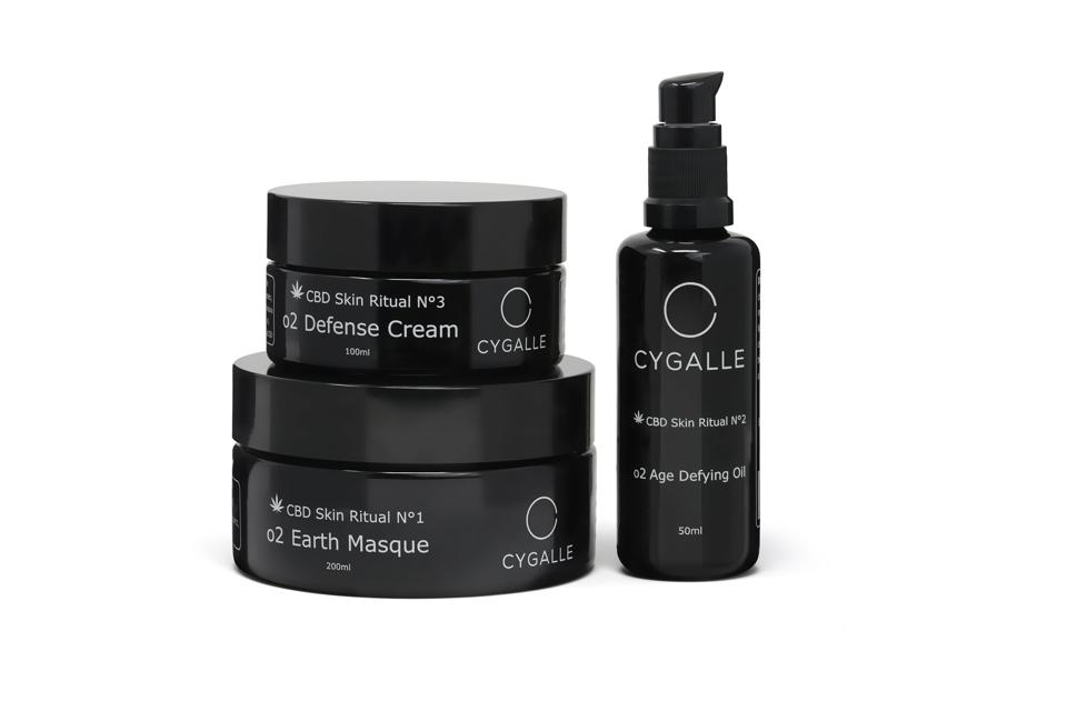 CYGALLE - Defense Cream, Earth Masque and Age Defying Oil