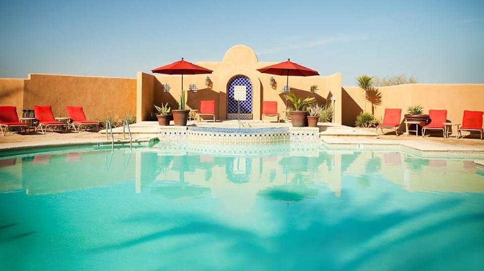 Adult pool at Arizona's Cibola Vista Resort and Spa