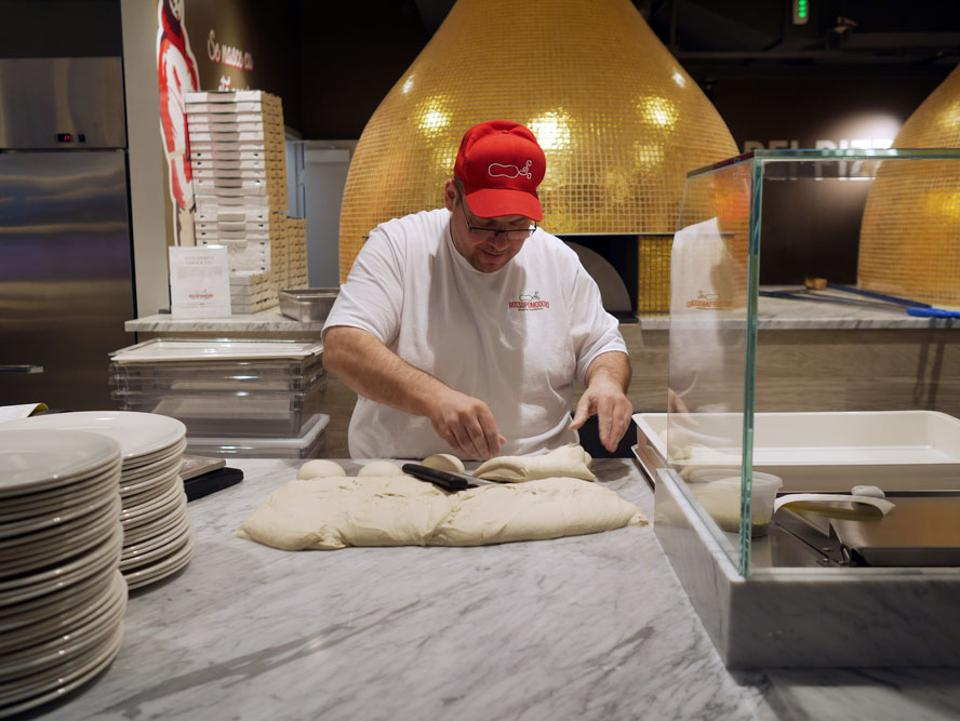 Eataly Toronto staff at all stations, including pizza, go through extensive multi-day training.