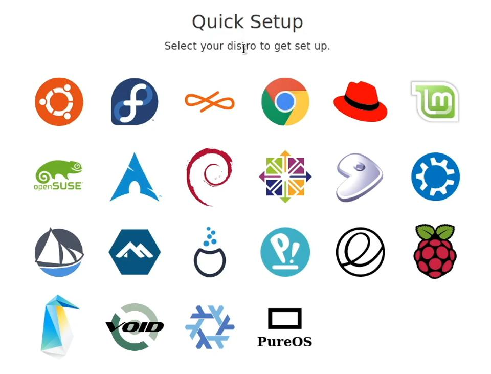 Snaps and FlatPaks allow you to install a wide range of software like Deja Dup on dozens of different distributions.