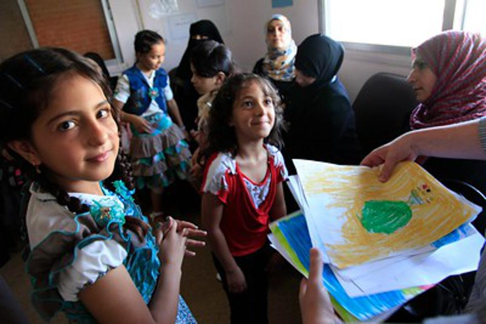Education for Refugee Children Brings Hope