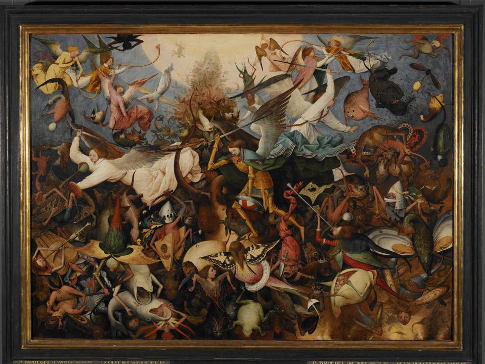 Bruegel at the Royal Museums of Fine Arts of Belgium.