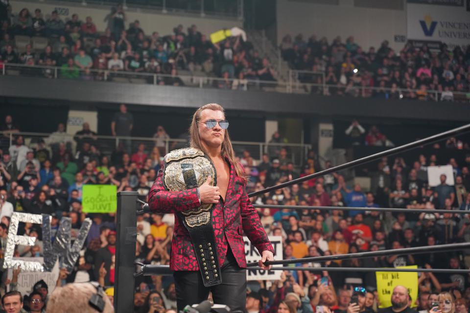 AEW Chris Jericho Scorpio Sky WWE NXT