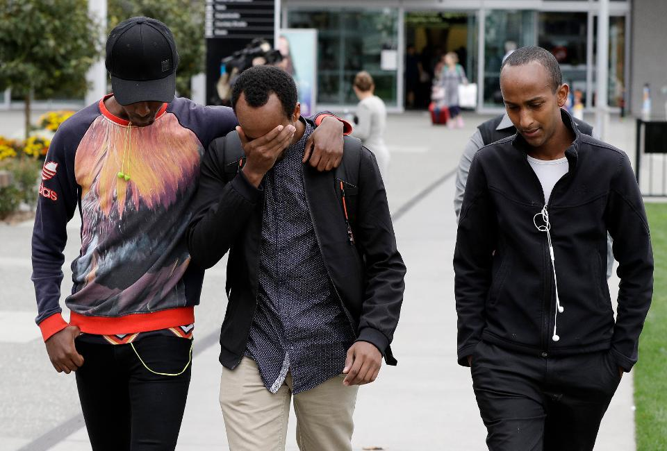 Brothers of Christchurch victim.