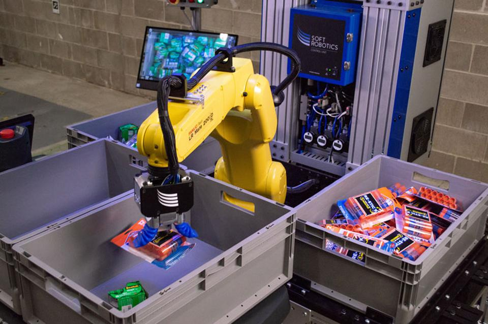 6 River Systems integrates Chuck robot with Soft Robotics' Superpick