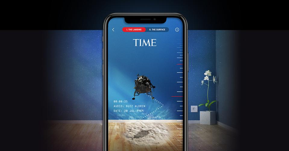time immersive app