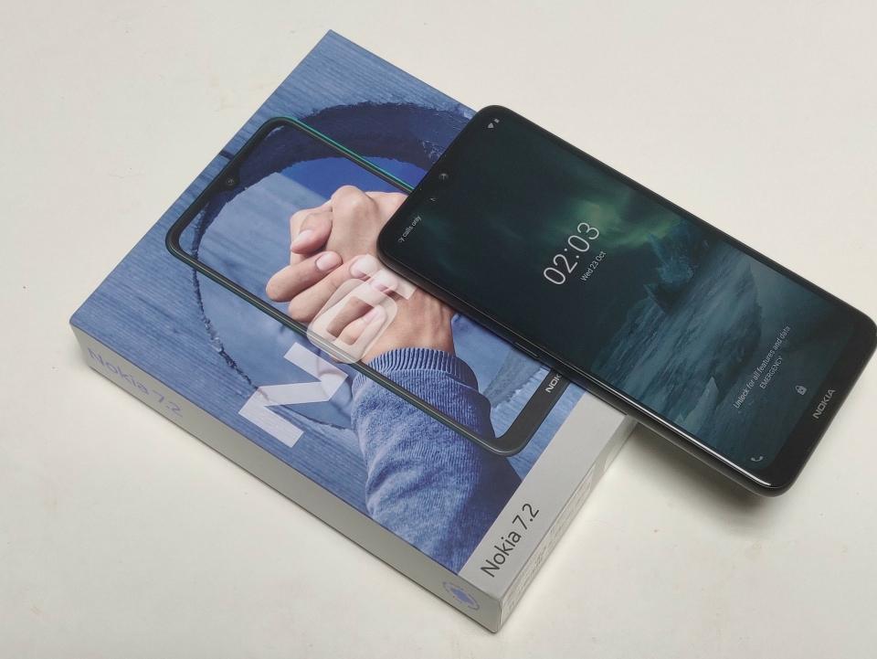 Nokia 7.2 (image: Ewan Spence)