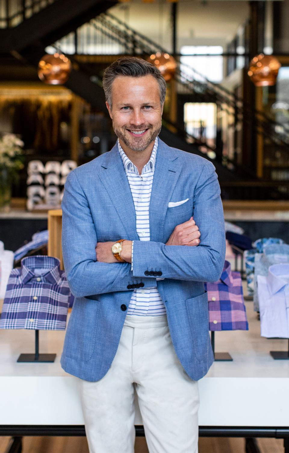 Paul Trible, Co-Founder and CEO of Ledbury