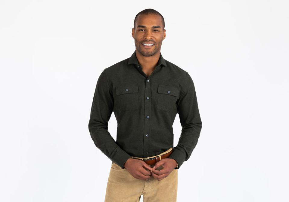 The Loden Heather Heyming Casual Shirt1