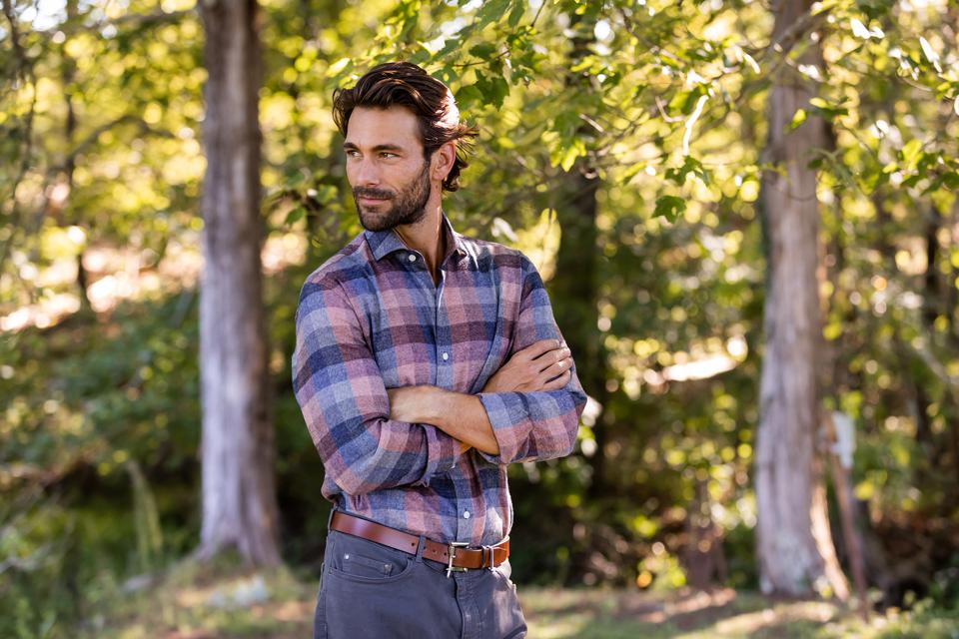 The Apricot Harmann Flannel Casual Shirt