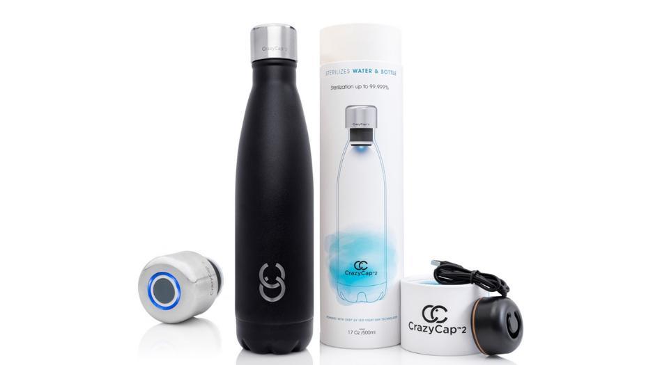 CrazyCap Portable Water Purifier