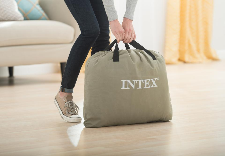 """22"""" Queen Ultra Comfort Elevated Airbed with Internal Pump from Intex"""