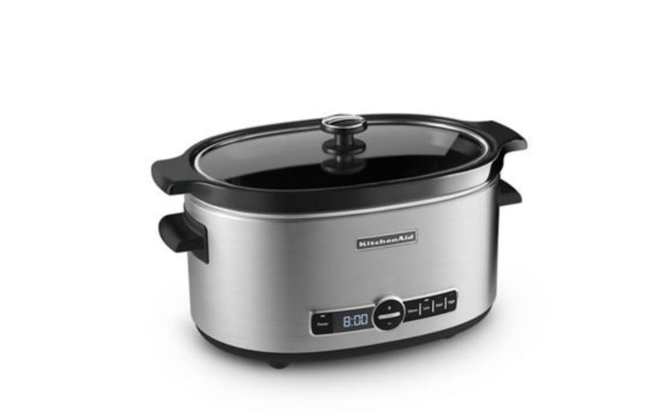 Stainless Steel 6-Quart Slow Cooker