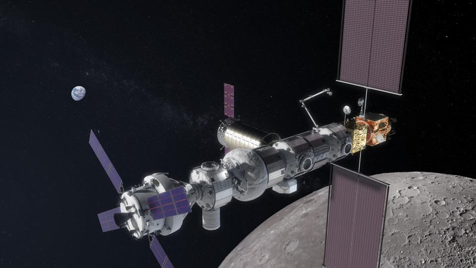 Piattaforma-gateway orbitale lunare