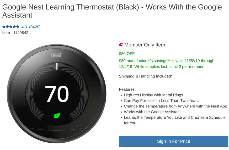 Costco's best Black Friday smart home deals, Costco's best Cyber Monday smart home deals